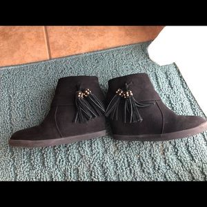 Kenneth Cole Reaction wedge ankle bootie size 11